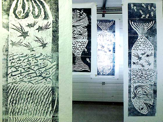 karina_bjerregaard_giant_fish_woodcut